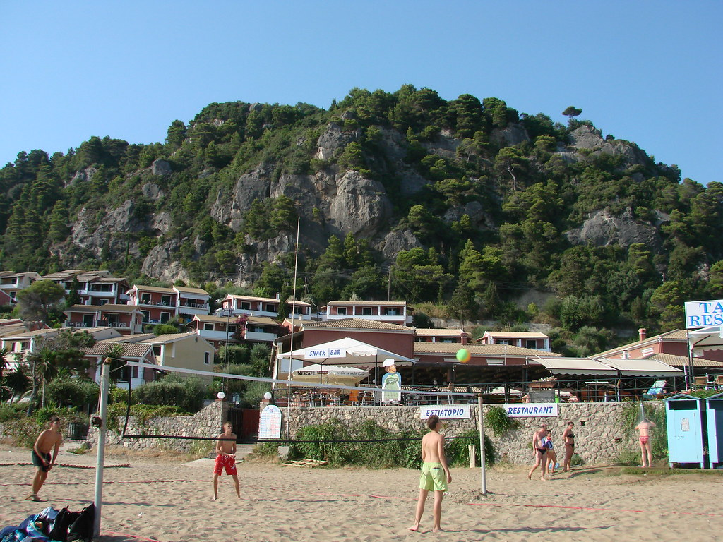 Volleyball at Glyfada beach