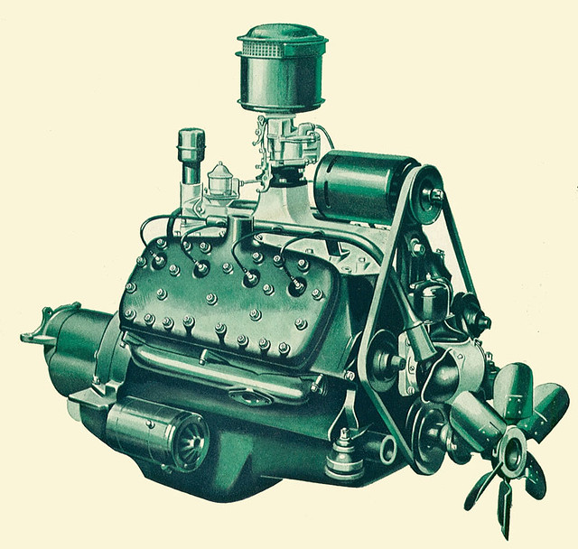 1932 Ford Flathead V8 Engine Block