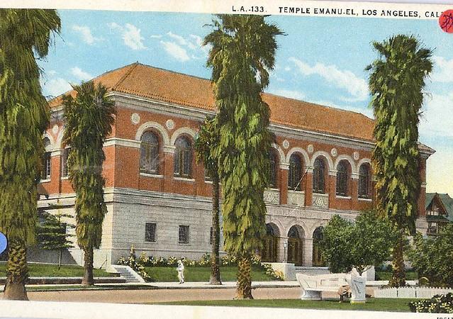 U.S. Los Angeles California Synagogue Jewish scan3961