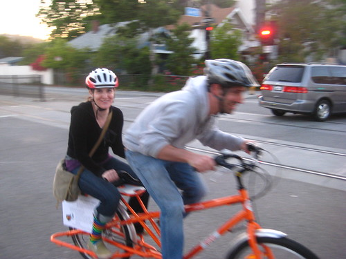 This is the new logo for cargo bike date night.