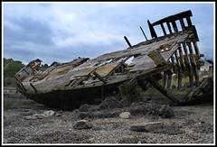Plymouth shipwreck at Hooe Lake