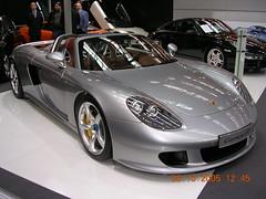 automobile(1.0), automotive exterior(1.0), wheel(1.0), vehicle(1.0), performance car(1.0), automotive design(1.0), porsche(1.0), auto show(1.0), porsche carrera gt(1.0), land vehicle(1.0), luxury vehicle(1.0), supercar(1.0), sports car(1.0),