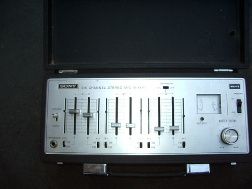 Things for Sale Sony 6 Channel Mic Mixer MX-12 | Sony 6 chan