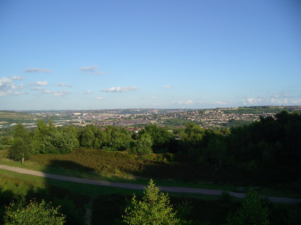 Sheffield from Wadsley Common
