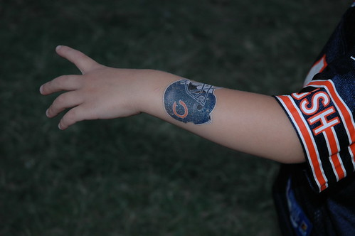 Chicago bears tattoos for Twisted tattoo chicago
