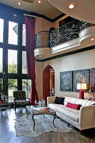 Contemporary Gothic Living Room | Flickr - Photo Sharing!