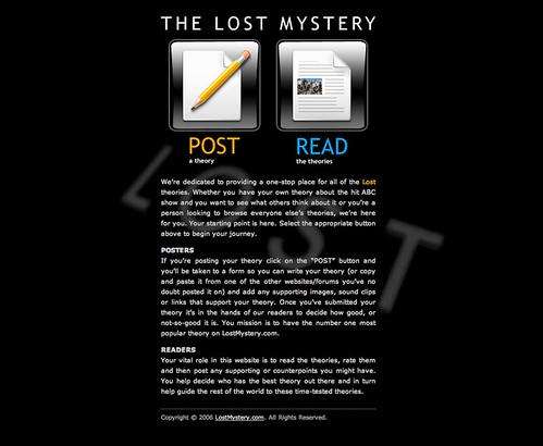 The Lost Mystery | by Evan & Crys