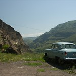 Soviet Car - Vardzia, Georgia