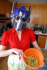 She cooks too!