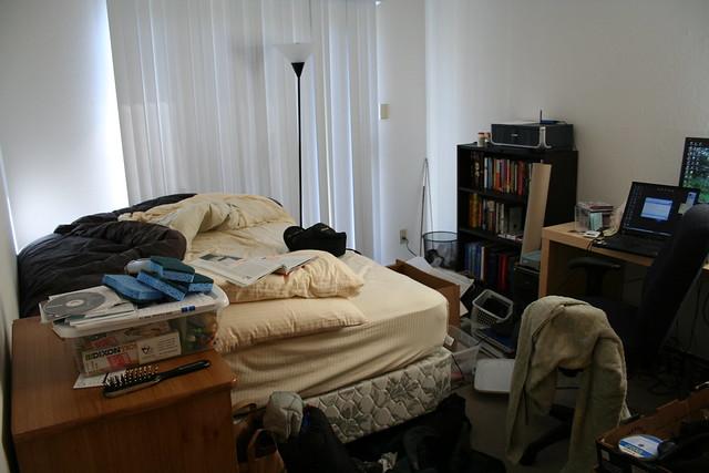 messy bedroom flickr photo sharing. Black Bedroom Furniture Sets. Home Design Ideas