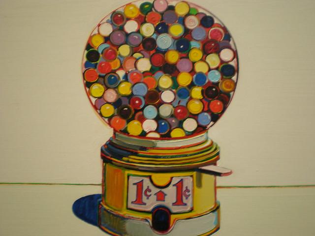Cake Art Mo : Wayne Thiebaud 1963  Jawbreaker Machine , Nelson-Atkins ...