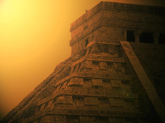 Pirámide de Chichen Itzá