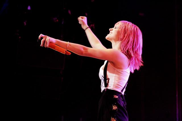 Paramore live @ The O2 Dublin November 2010