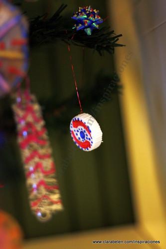 Inspiraciones manualidades y reciclaje manualidades navide as c mo adornar tu rbol de Adornos reciclados para navidad