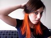 orange? (this is not me... this is a hair idea) by emilyvalenza