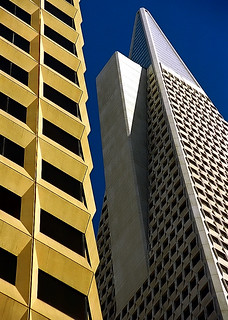 "San Francisco - Financial District ""Architectural Contrast"""