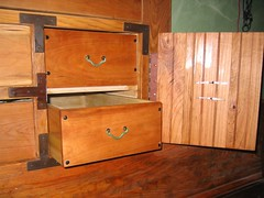 cupboard(0.0), chest(0.0), sideboard(0.0), desk(0.0), drawer(1.0), furniture(1.0), wood(1.0), chiffonier(1.0), wood stain(1.0), chest of drawers(1.0), wood flooring(1.0), hardwood(1.0), cabinetry(1.0),