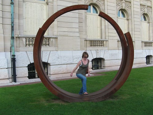 Debbie jumps through hoops to please her brother