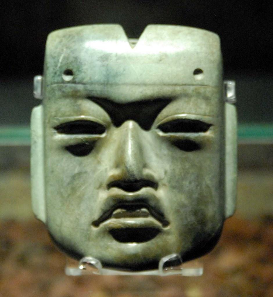 Cara Olmeca Olmec Face