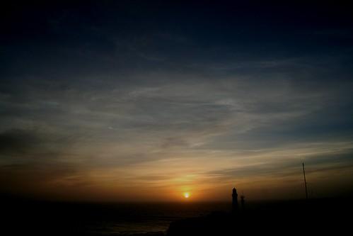 Sunrise with Lighthouse
