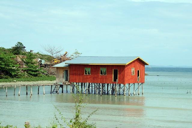 coastal home Pitas Region Sabah Malaysia photo by