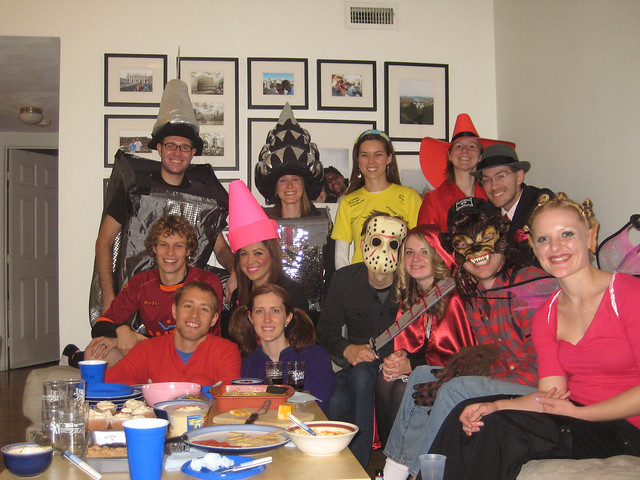dan + kristin halloween party