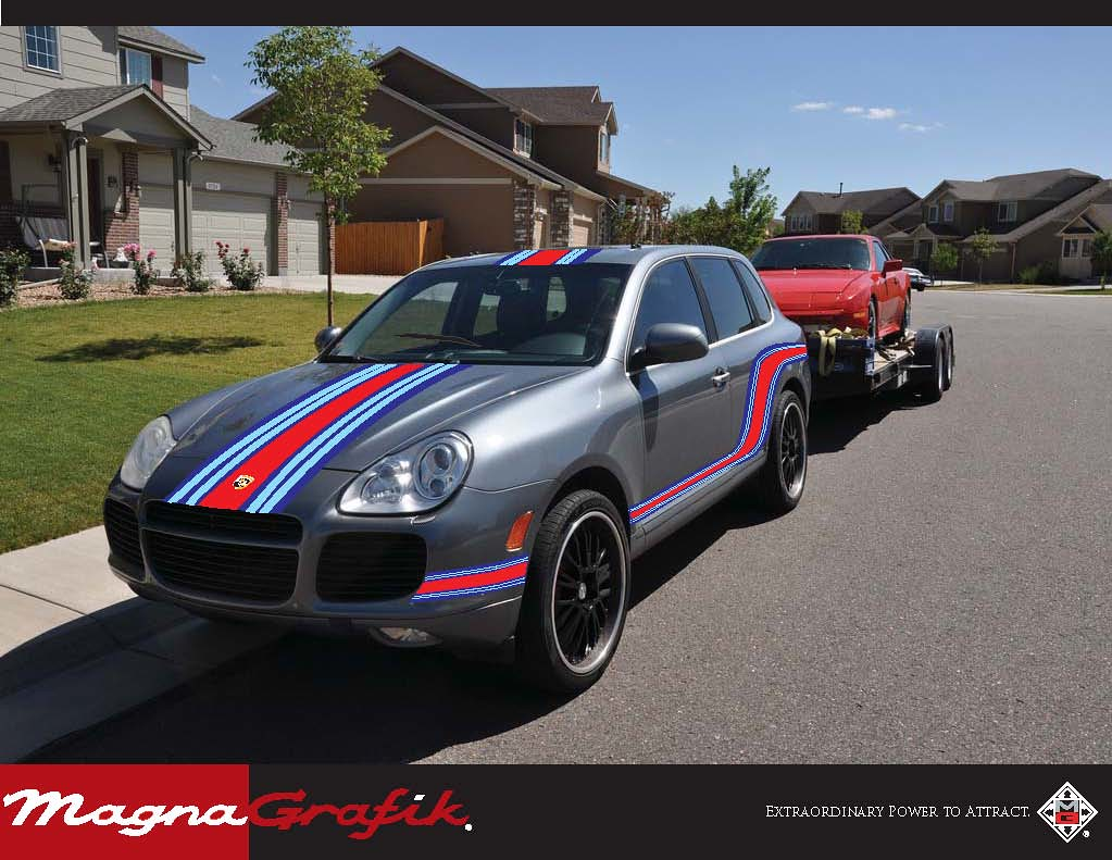 martini racing cayenne turbo 6speedonline porsche. Black Bedroom Furniture Sets. Home Design Ideas