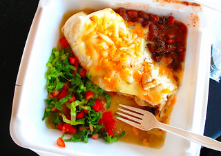 chicken burrito