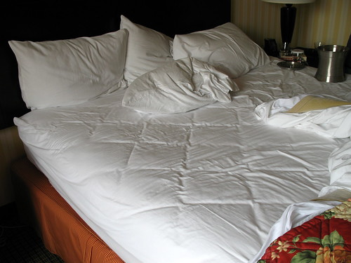 The Hilton, Bed