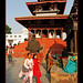 Nepal-Kathmandu-girls-temple