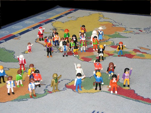 Playmobils of the world