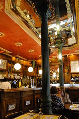 Interior of Taberna San Ysidro - Madrid, Spain