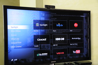 Logitech Revue with Google TV Screenshots