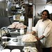 Waldorf Hotel | Gabriella, who is prepping authentic Mexican street food