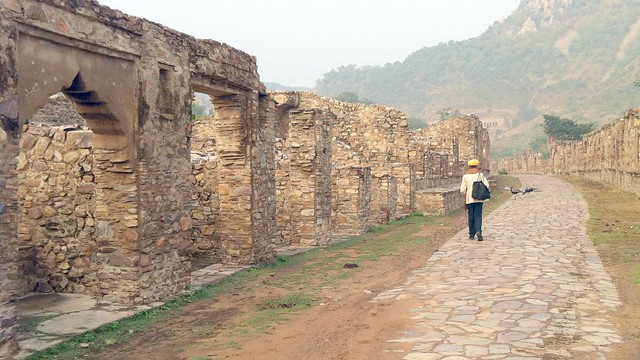 Bhangarh, what used to be the markets