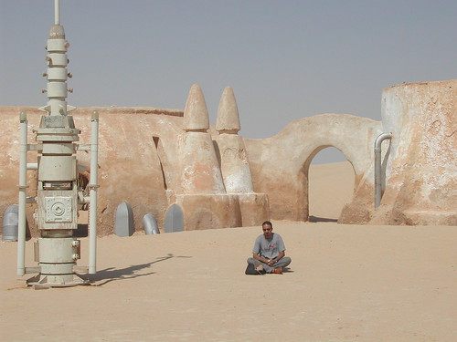 Star Wars Annakin village in tunisian desert