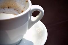 espresso, cappuccino, cup, saucer, caf㩠au lait, coffee, coffee cup, hot chocolate, caff㨠macchiato, drink, latte, caffeine,