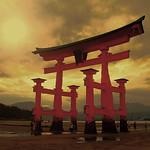 Torii - Itsukushima (Hiroshima)