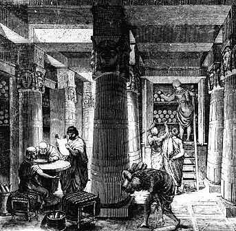 aleksandrijskaja biblioteka
