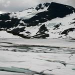 Views along the Sognefjellsveg road