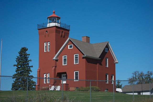 Flashing Red Light >> Two Harbors Lighthouse | Flickr - Photo Sharing!