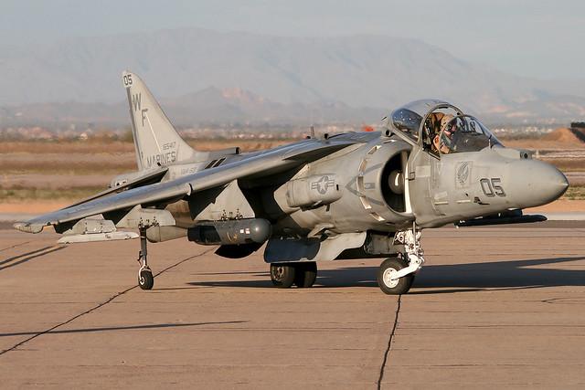McDonnell-Douglas AV-8B+ Harrier II BuNo 165417, VMA-513