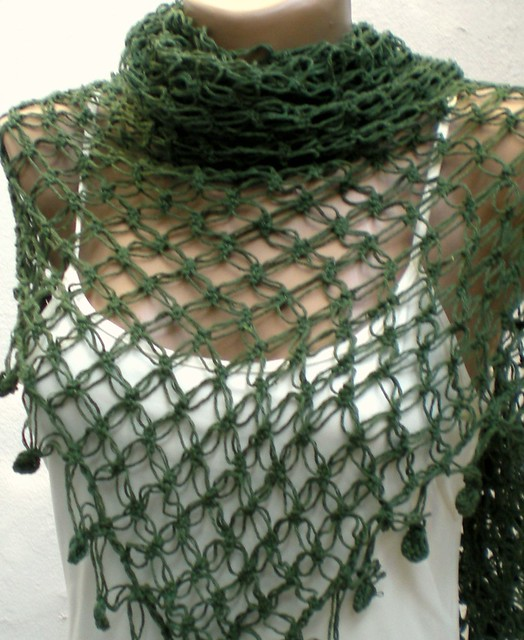 Free crochet shawl pattern - Learn how to crochet