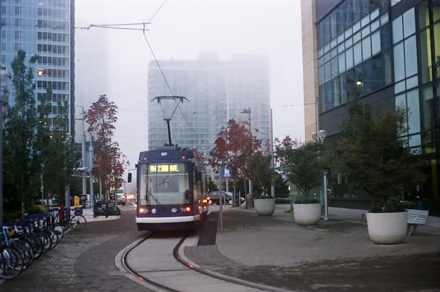 Foggy Streetcar