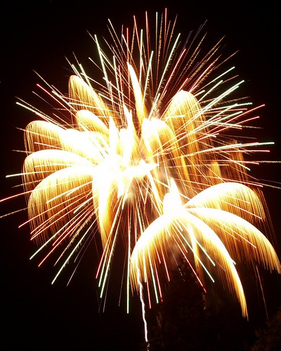 Firework Desktop Background