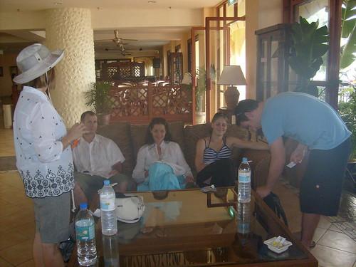 Lang Kawi Hotel lobby.