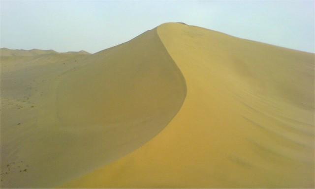 Sand Dune Of The Gobi Desert