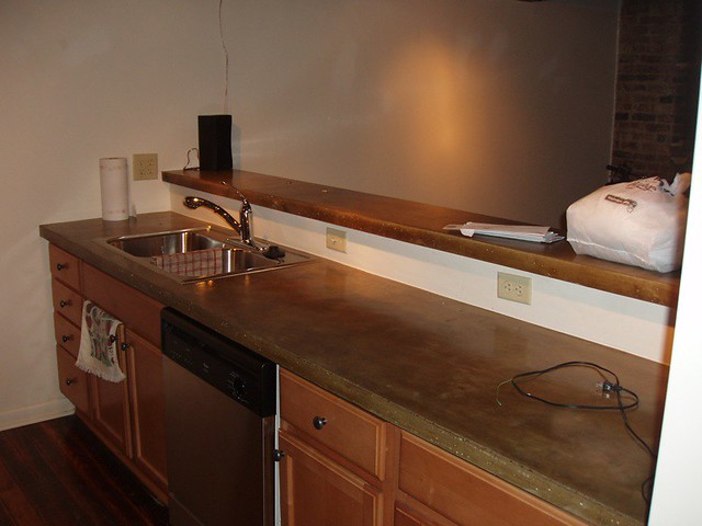 Z Countertop Stain : Stained Concrete Countertops Flickr - Photo Sharing!