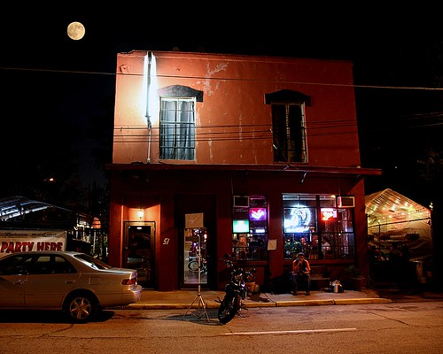 Moon Over Elliott Street