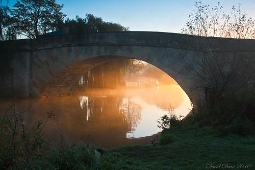 morning bridge light mist thames sunrise reflections river dawn nikon cotswolds gloucestershire nikkor 1001nights vr halfpenny d60 lechlade 1685mm 1001nightsmagiccity jactoll